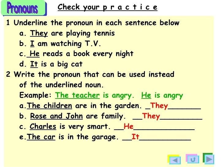 pronoun and antecedent worksheets