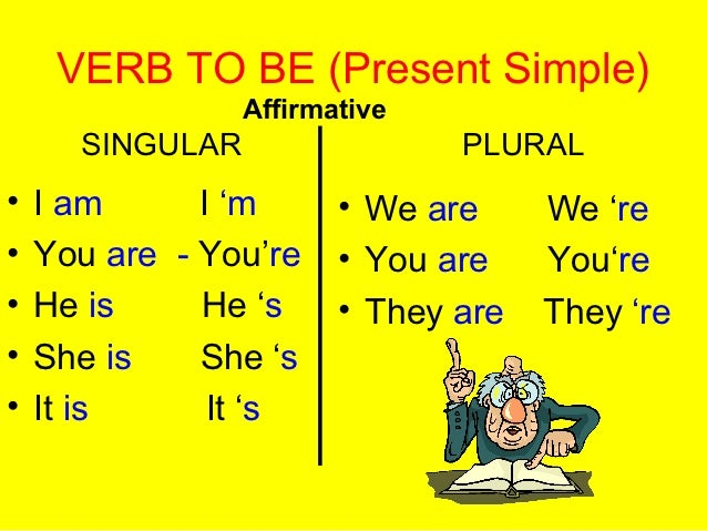 Pronouns and Verb To Be