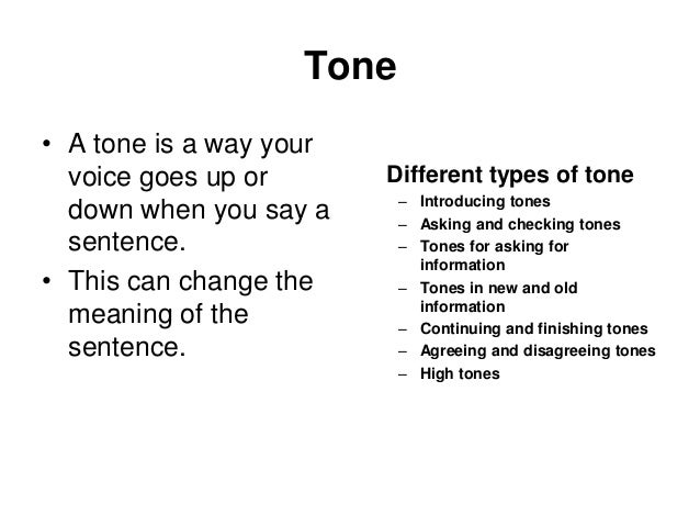 types of tones for essays