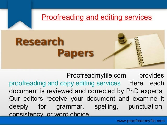 Academic Proofreading Editing for Students