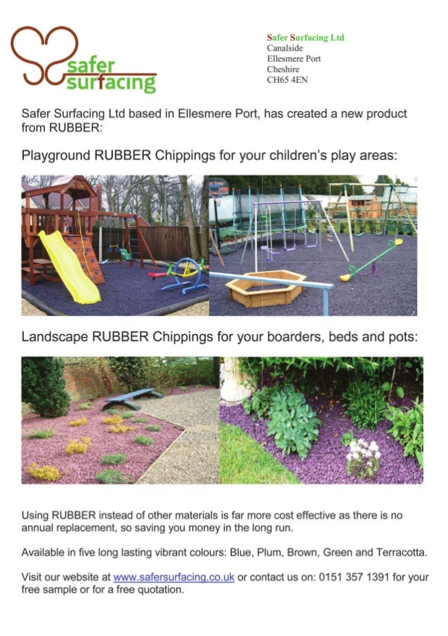 Playground Surfaces Rubber Suppliers