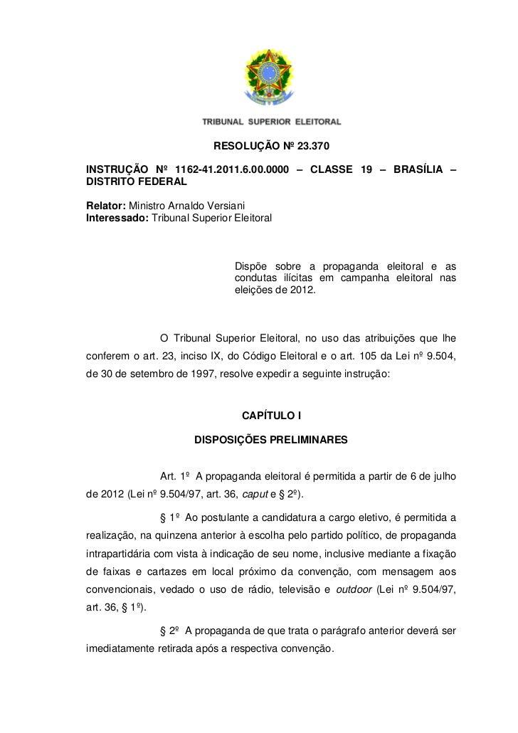 Propaganda e conduta ilícita tse resolucao-23370-consolidada
