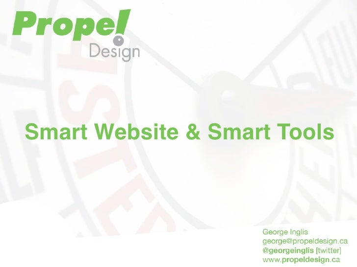 Smart Websites & Tools