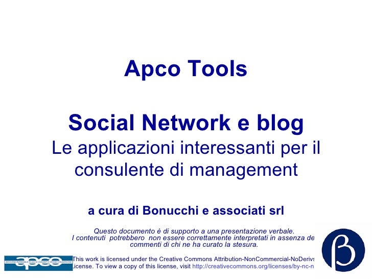 Social network e blog