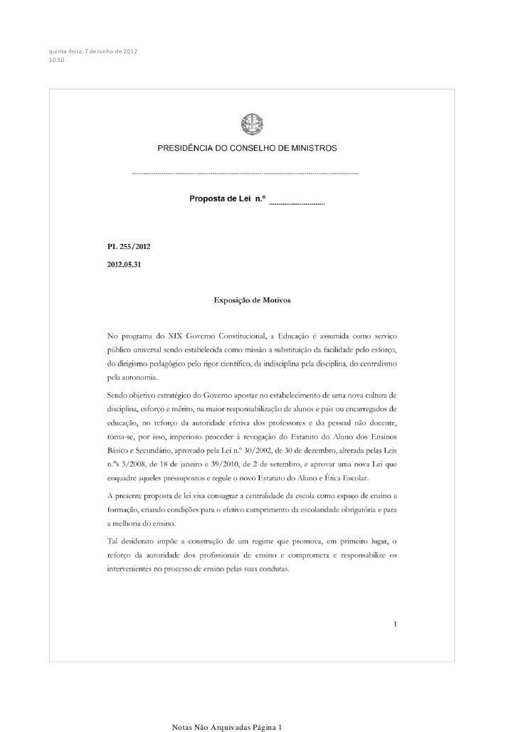 quinta-feira, 7 de Junho de 201210:50                                   Notas Não Arquivadas Página 1