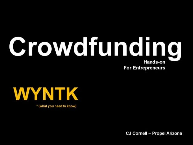 Propel Arizona Crowdfunding Essentials - for NACET