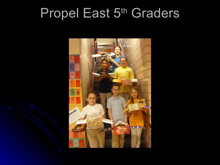 Propel East 5 th  Graders