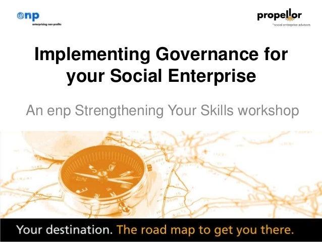 Propellor governance workshop_15mar2013