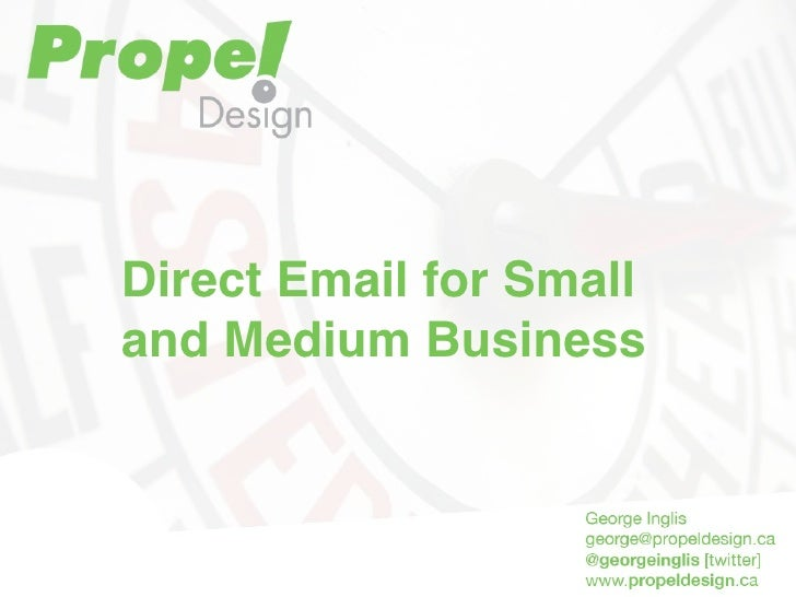 Direct Email for Small and Medium Business