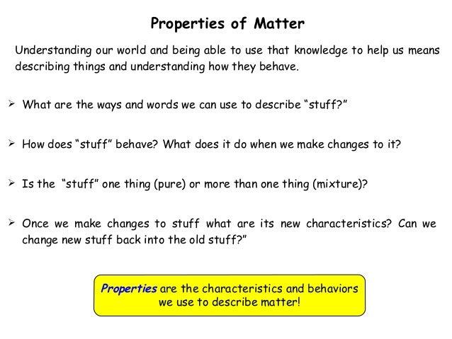 Properties of-matter-slides ka6