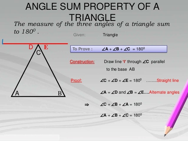Properties Of A Triangle