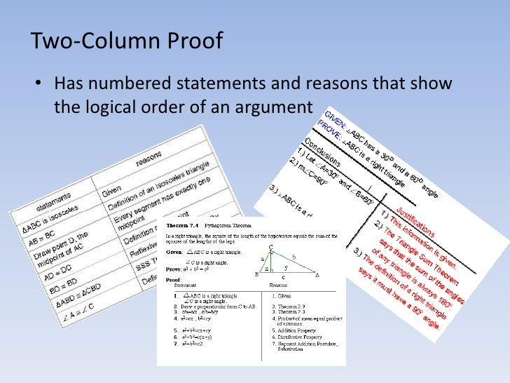 Two-Column Proofs