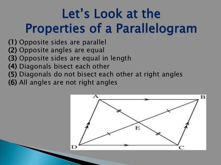 Parallelogram Properties Related Keywords u0026 Suggestions ...