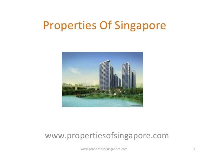 Properties of singapore