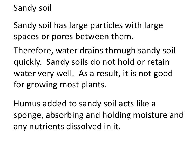 Properties of soils teach for What are soil characteristics