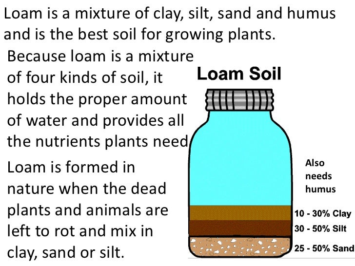 Properties of soils teach for Four main components of soil