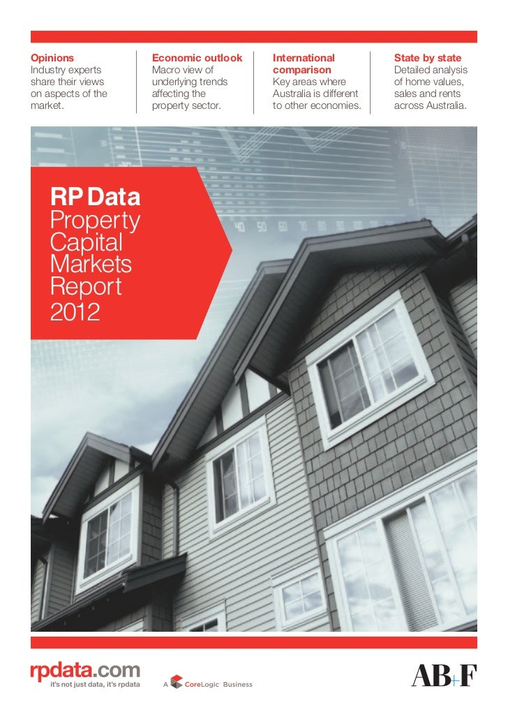 Property Capital Markets Report