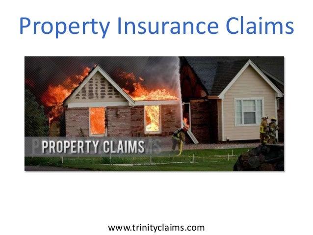 Property Insurance Claims  www.trinityclaims.com