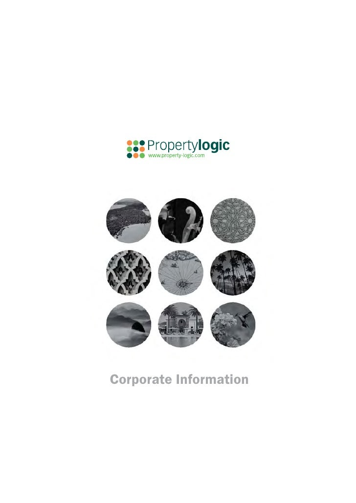 Property Logic Corporate Brochure