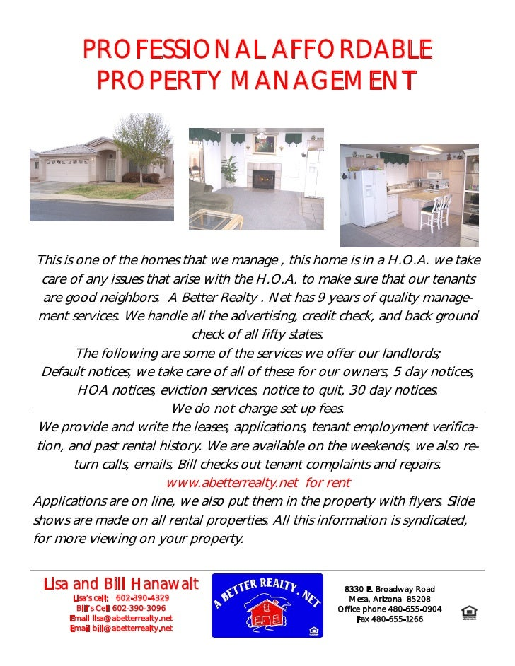 PROFESSIONAL AFFORDABLE           PROPERTY MANAGEMENT      This is one of the homes that we manage , this home is in a H.O...