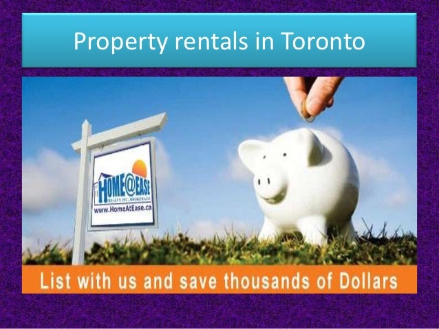 Property rentals in Toronto