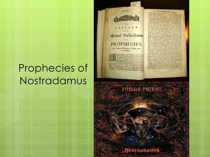 Prophecies ofNostradamus