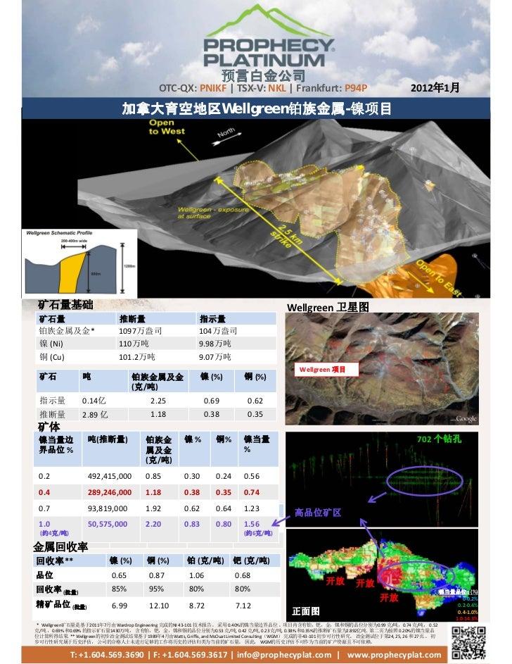 Prophecy plat factsheet_2012_jan_05_cn