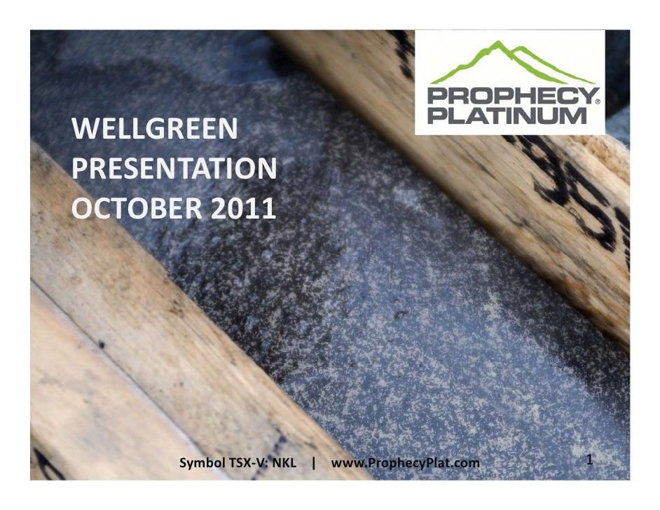 Prophecy platinum wellgreen_presentation