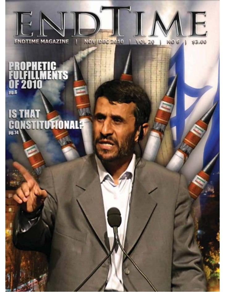 Prophetic fulfillments of 2010   endtime magazine - nov-dec 2010