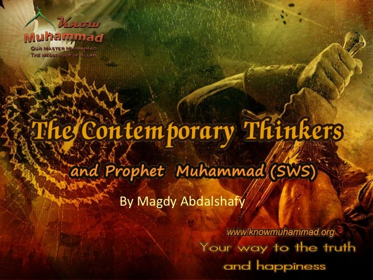 Prophet Muhammad in the Eyes of the World Thinkers