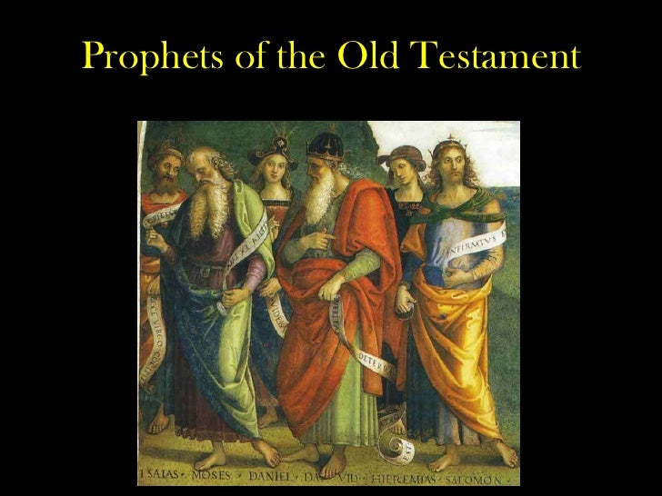 the prophets and covenants of the old testament (2) the old testament prophets do refer to the mosaic law in all sorts of ways, and rather constantly, but largely periphrastically and paraenetically as opposed to verbatim it would make little sense for god to assign them the task simply of repeating the words of the pentateuchal covenant.