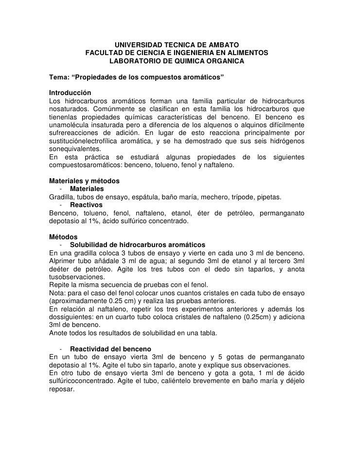 UNIVERSIDAD TECNICA DE AMBATO           FACULTAD DE CIENCIA E INGENIERIA EN ALIMENTOS                LABORATORIO DE QUIMIC...