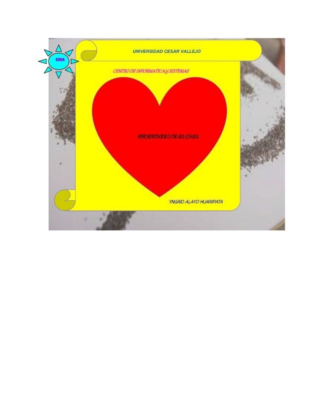 Página………>1 Propiedades de la Chia Introducción. Razones para consumir Chía Cómo consumir las semillas de chía Propiedades...