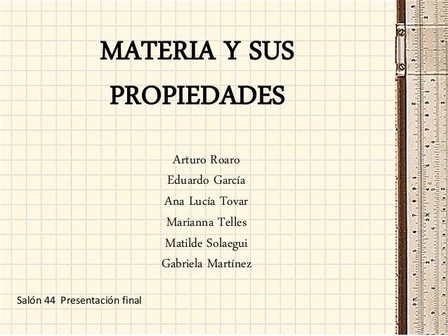 Propiedades de la materia 44
