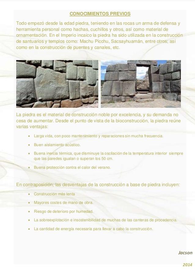 propiedades de la piedra