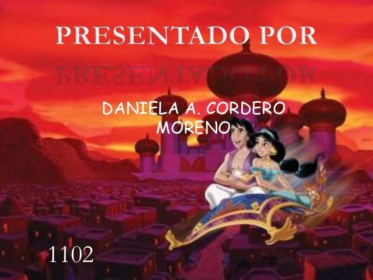 DANIELA A. CORDERO            MORENO1102