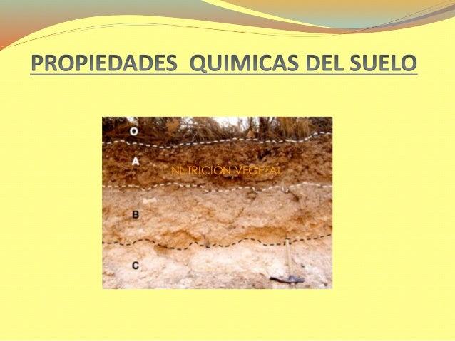 propiedades del suelo