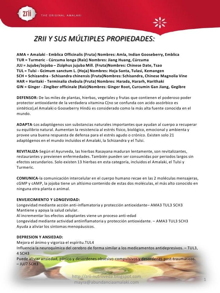 ZRII Y SUS MÚLTIPLES PROPIEDADES: AMA = Amalaki - Emblica Officinalis (Fruta) Nombres: Amla, Indian Gooseberry, Emblica TU...