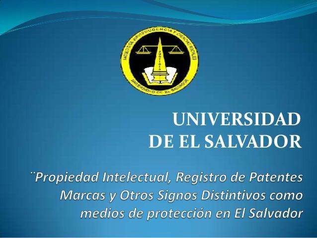 Propiedad intelectual, Registro de patentes, Marcas y otros signos distintivoss