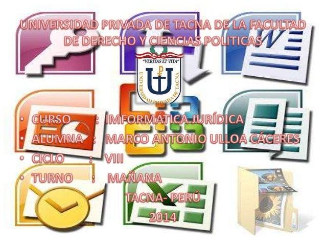 En el Perú INDECOPI es la entidad que realiza el registro de los derechos de autor de un software. CONSIDERACIONES OBRE EL...
