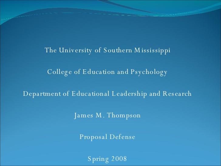 thesis proposal defense video 4240