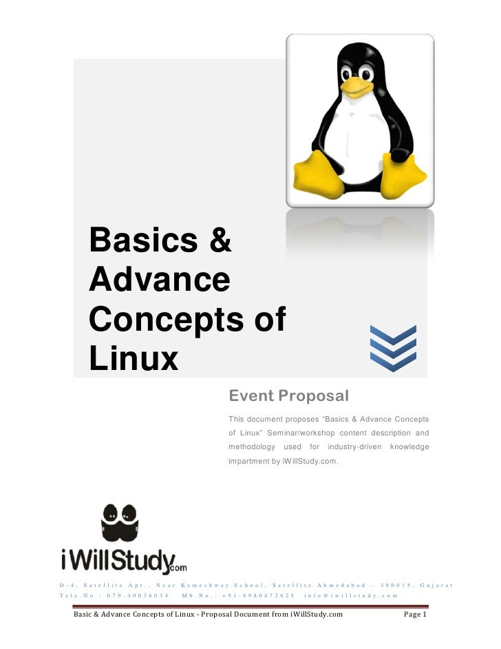 Seminar and workshop on Basics and Advanced Concepts of Linux
