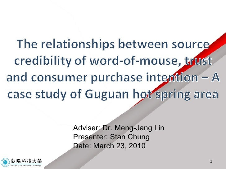 Adviser: Dr. Meng-Jang Lin Presenter: Stan Chung Date: March 23, 2010