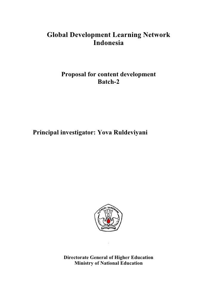 Proposal e learning