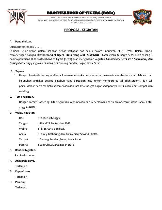 BROTHERHOOD OF TIGERS (BOTs) SEKRETARIAT : JL.RAYA BOGOR KM 22,GUDANG AIR ,JAKARTA TIMUR BASECAMP : JL.PROF DR.SUPOMO (SEB...