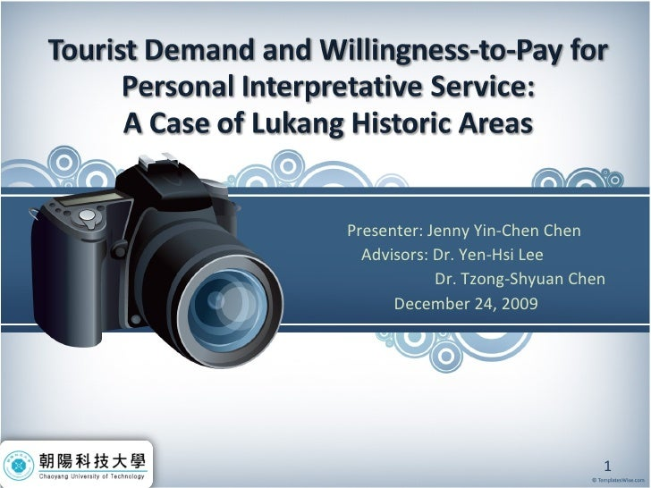 Presenter: Jenny Yin-Chen Chen  Advisors: Dr. Yen-Hsi Lee   Dr. Tzong-Shyuan Chen December 24, 2009