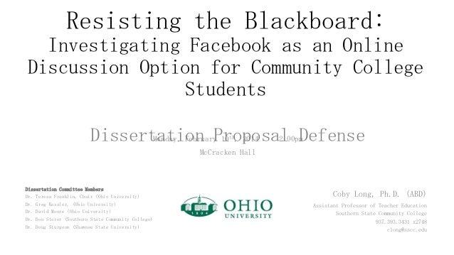 Proposal defense slideshow