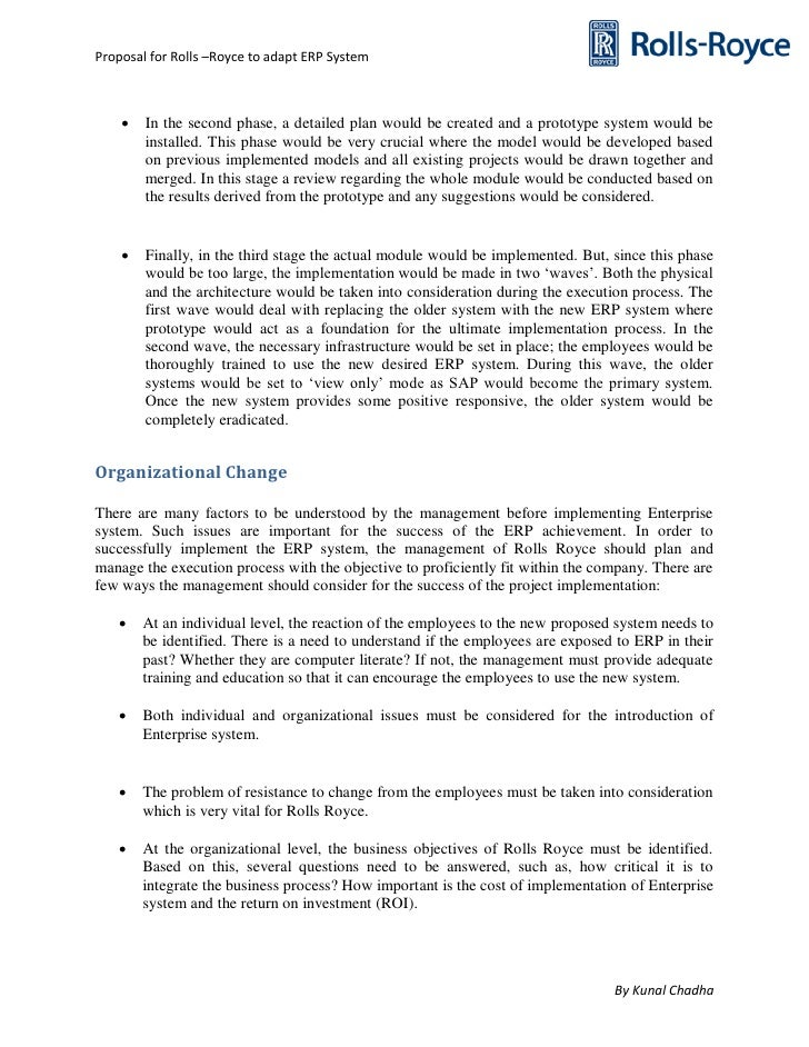 new system proposal essay