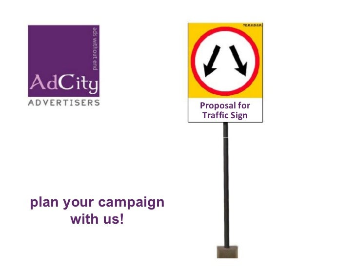 Proposal For Traffic Sign