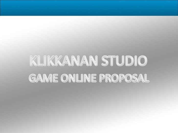 The Online Game Development